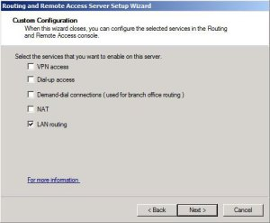 LAN Routing on Windows Server 2008 R2 – Step by Step Tutorial