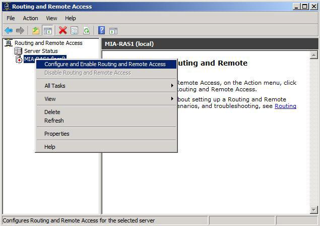 Lan routing on windows server 2008 r2 step by step igor